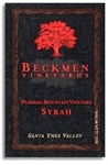 Beckmen Purisima Mountain Vineyard Syrah 2012