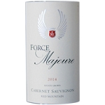 Force Majeure Cabernet Sauvignon Red Mountain Estate 2014