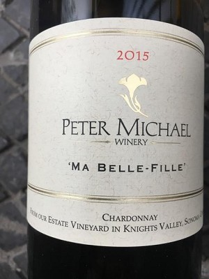 "Peter Michael ""Ma Belle-Fille"" Knights Valley Chardonnay 2015"
