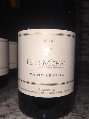 "Peter Michael ""Ma Belle-Fille"" Knights Valley Chardonnay 2014"