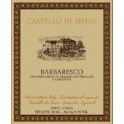 Castello di Neive Barbaresco 2012