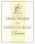 Domaine du Grand Moulin Touraine Sauvignon Blanc 2016