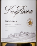 King Estate Pinot Gris Willamette Valley 2016