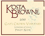 Kosta Browne Gap's Crown Vineyard Pinot Noir 2015