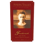 Spring Valley Frederick Estate Red 2011
